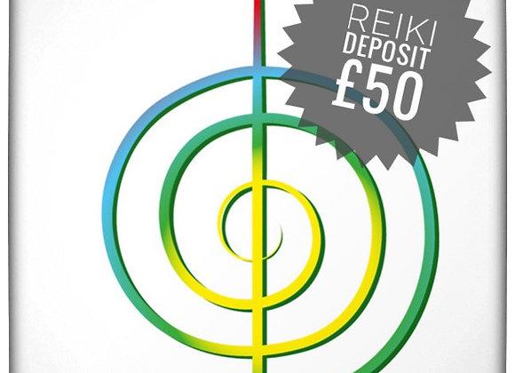 Deposit £50 Reiki Course