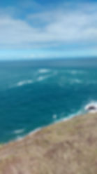 New Zealand where the two oceans meet. A place of peace