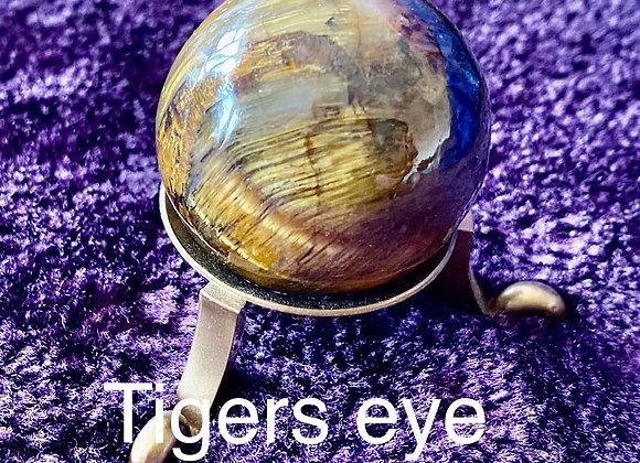 Tigers Eye Sphere