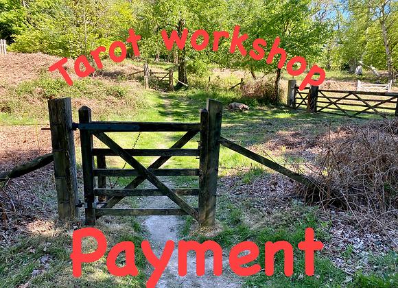 Tarot Course Payment
