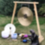 Sound Bath set up #soundbaths  #vibratio