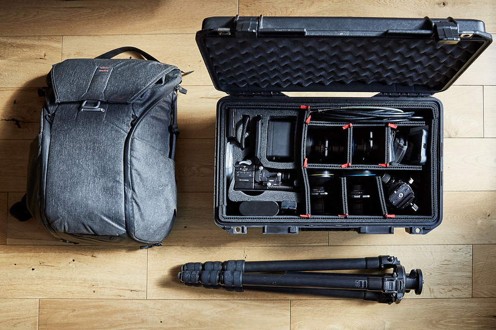 Interiors and Architecture Photographer GG Archard's Gear