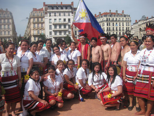 IFA-Igorot in France Association Captures Huge Crowd Attention in the  Festival of Banners in Lyon.
