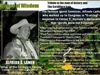 """Alfredo Lamen: """"Father of the Igorots"""""""