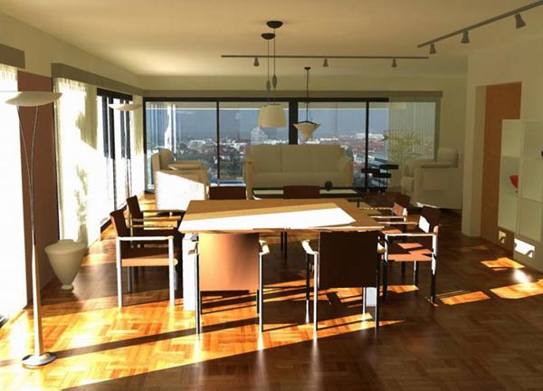3d interiors simple