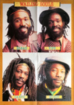 Wailing Souls - On The Rocks (poster)