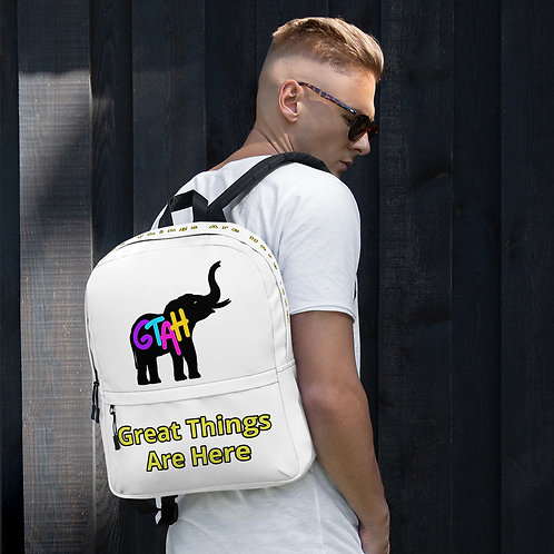 Great Things Are Here Backpack