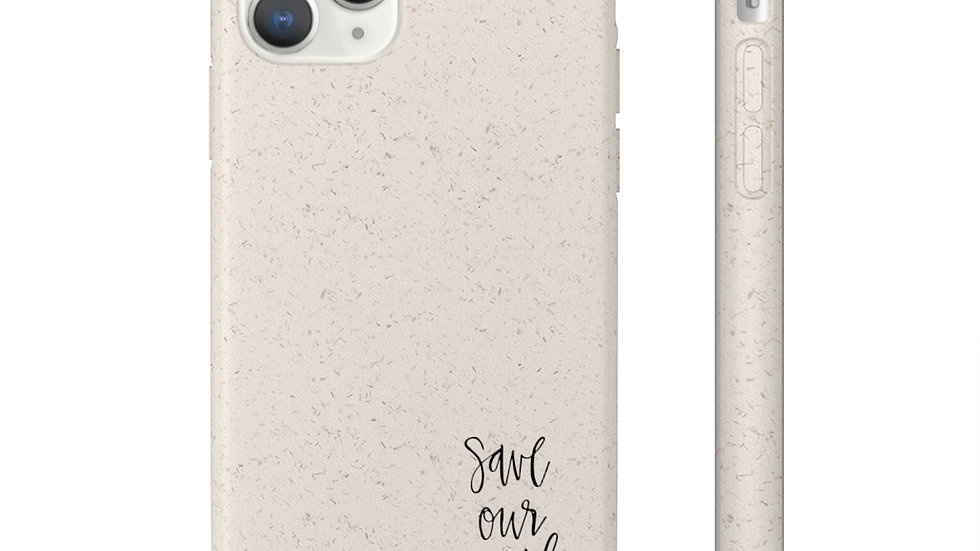 Save our Earth Biodegradable iphone 11 case
