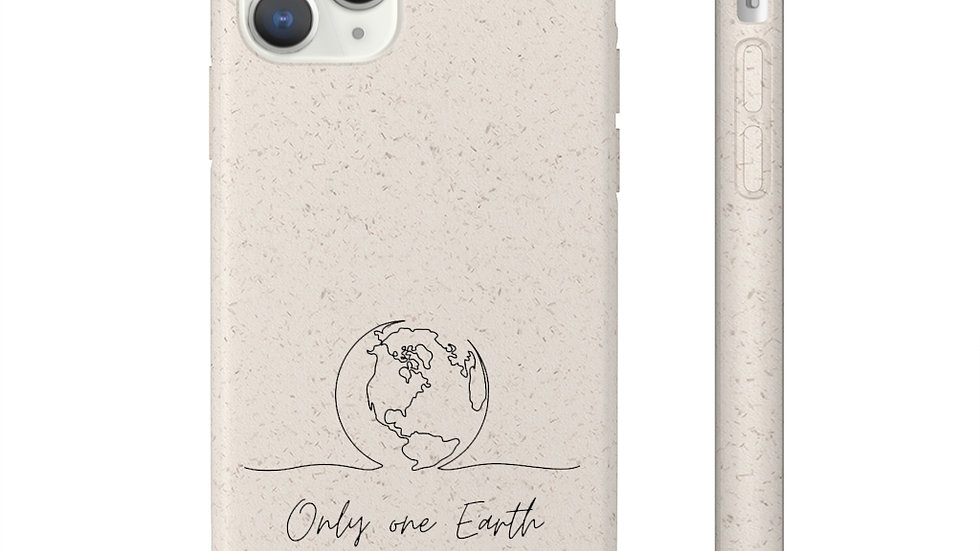 Only one Earth Biodegradable iphone 11 Case