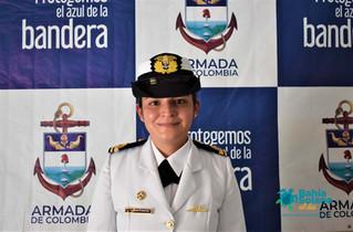 Una mujer, por primera vez ocupa el cargo de Capitán de Puerto de Bahía Solano