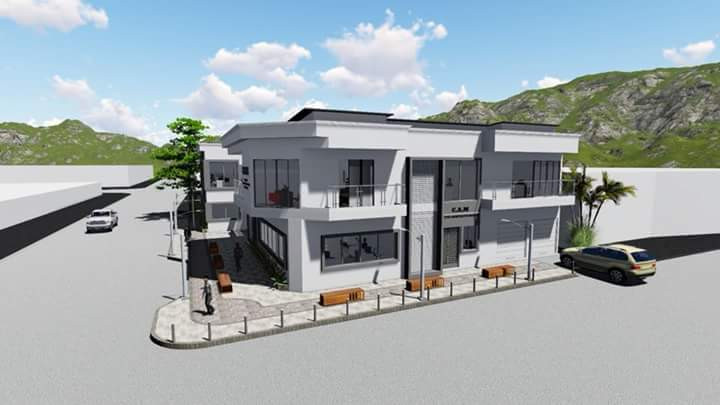 Diseños del palacio municipal de Bahía Solano