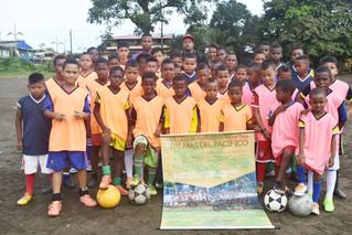 Niños deportistas de Bahía Solano, buscan padrinos que los apoyen