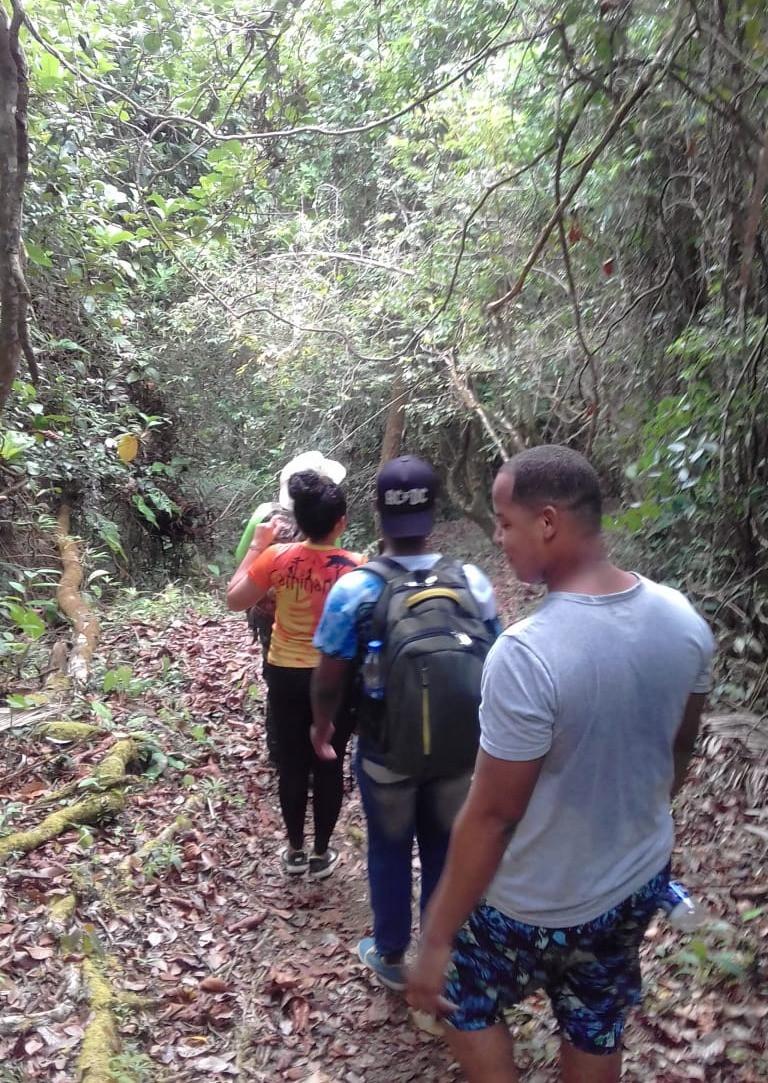 Participantes del programa durante actividades