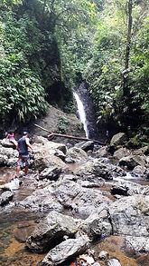 Cascada Chocolatal en Bahía Solano