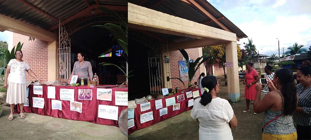 Ceremonia de conmemoración de los 20 años de la avalancha en Bahía Cupica