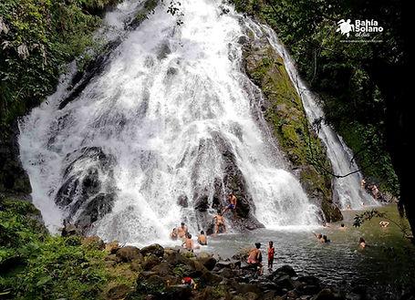 Cascada_nabugá en Bahia solano