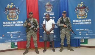 Capturado en Bahía Solano, sujeto pedido en extradición por narcotráfico
