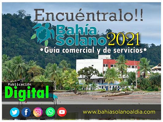 Directorio de servicios Bahia Solano