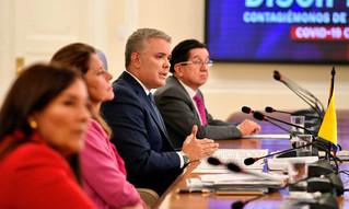 Presidente Duque, de visita en Bahía Solano