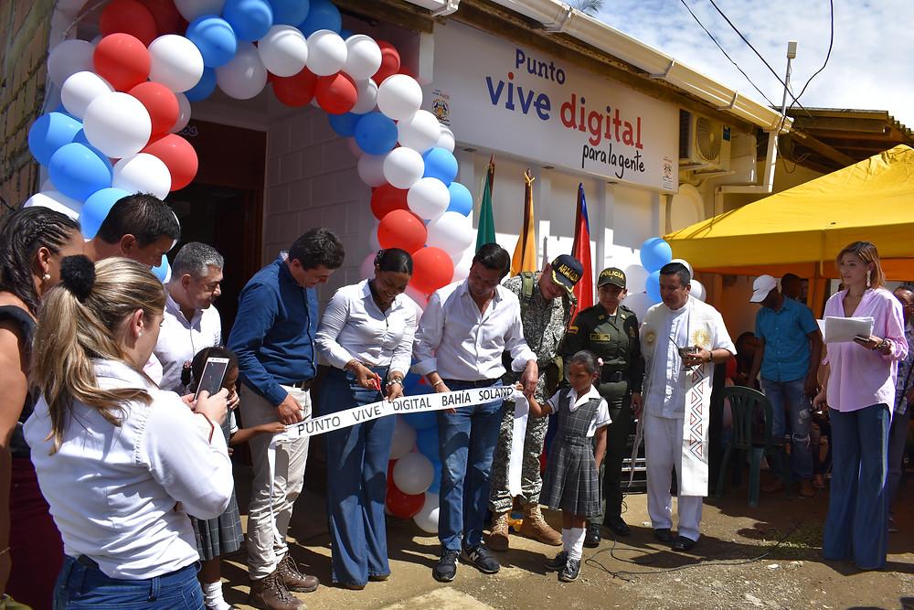 El Punto ViveDigital había sido inaugurado hace menos de un año.