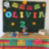 Happy 2nd Birthday Olivia! Thank you for