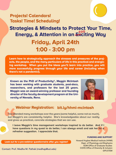 Strategies & Mindsets to Protect Your Time, Energy & Attention in an Eggciting Way