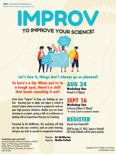 Improv to Improve Your Science!