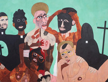 Splendorous Array of 20th / 21st Century Paintings Offered in Bunch Contemporary Art Auction