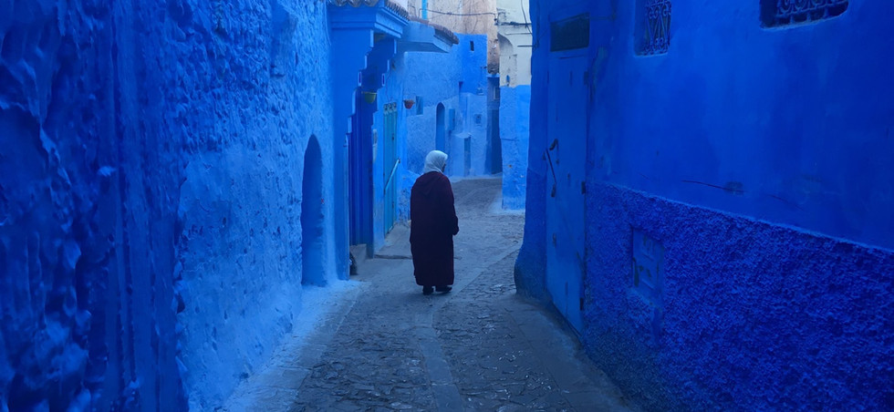 Early Morning, Chefchaouen, Morocco, 2018