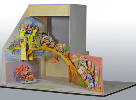 Magical Mixed Media: A Droll Diarama by Red Grooms