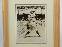 A Picture's Worth 1,000 Words...and $11,000 : The Price of a Babe Ruth Signature
