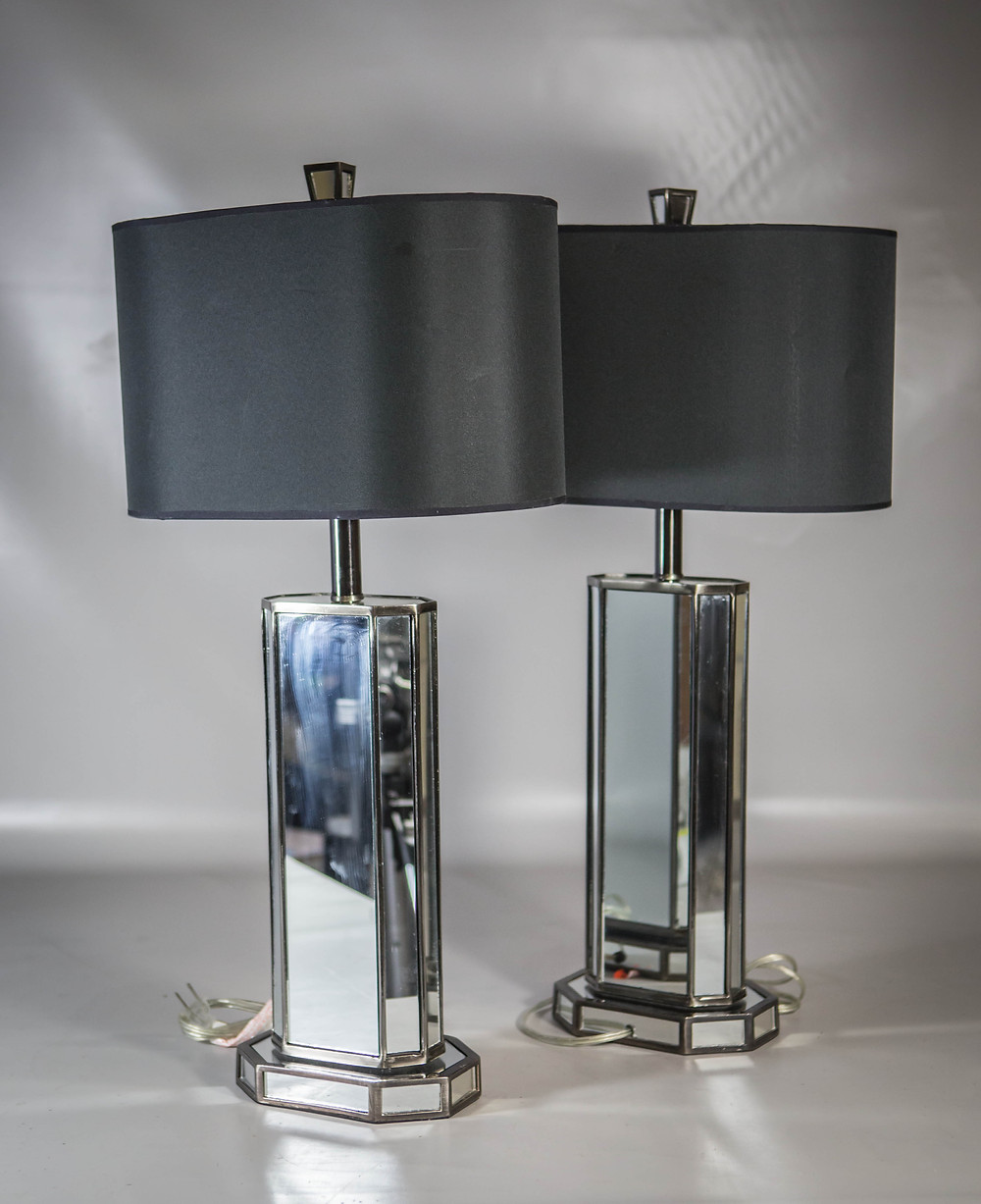 Modern Mirrored Lamps | Bunch Auctions