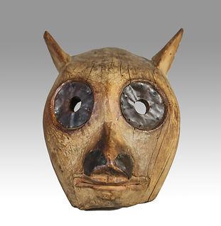 Northwest Coast mask, British Columbia, c 1880