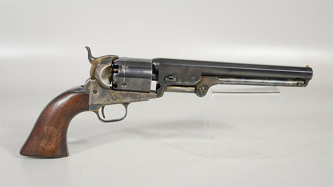 Identified Colt Model 1851 Navy Revolver