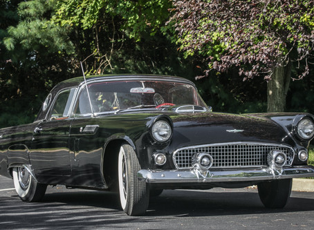 1956 Ford Thunderbird classic car gets added to December Catalog Auction