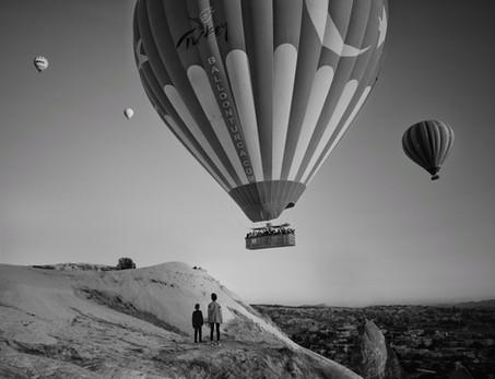 Two brothers, Cappadocia, Turkey, 2018