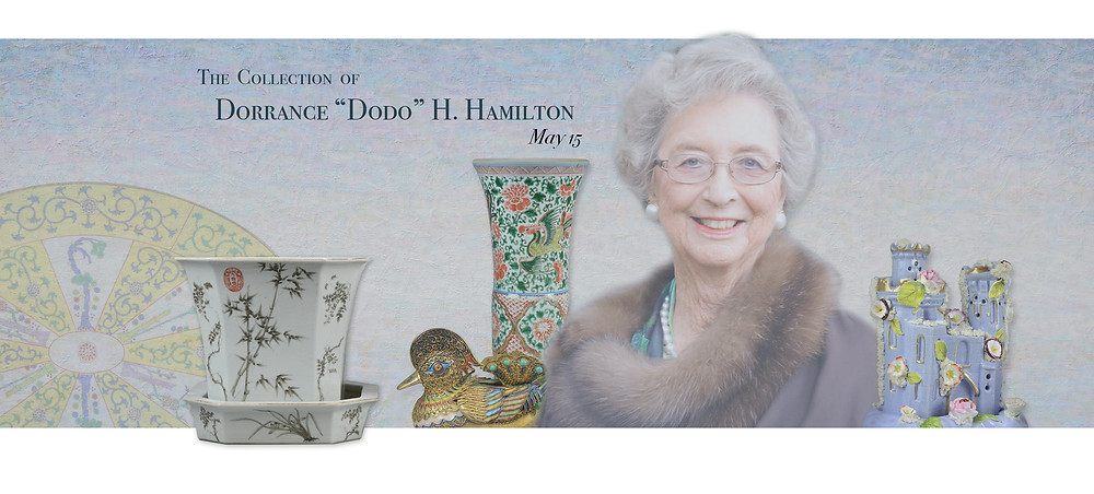 "The collection of Dorrance ""Dodo"" H. Hamilton"