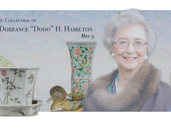 "Bunch Auctions proudly presents items from the Collection of Dorrance ""Dodo"" H. Hamilton"