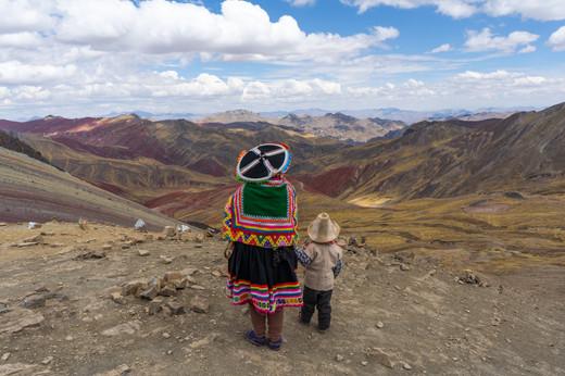 Mother & Son, Andean Highlands, Peru, 2019