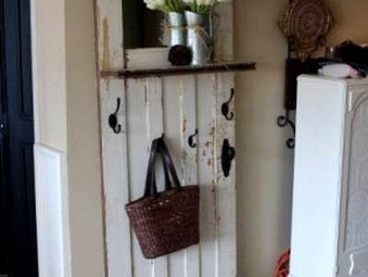 Upcycling: Salvaged Doors