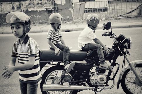 Boys at play, Negombo, Sri Lanka, 2018