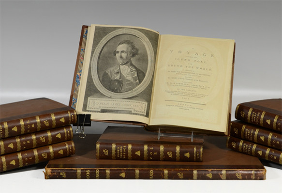 John Hawkesworth, Three Voyages of Captain James Cook | Bunch Auctions