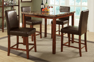 Bar Height Table & Stools | Bunch Auctions