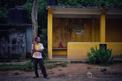The Bus Stop, Ella, Sri Lanka, 2018
