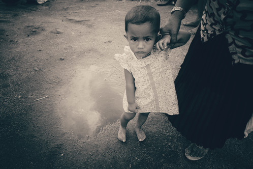 Puddle Girl, Ella, Sri Lanka, 2018