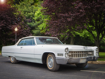 This Just In: 1966 Cadillac DeVille Classic Convertible Up For Auction