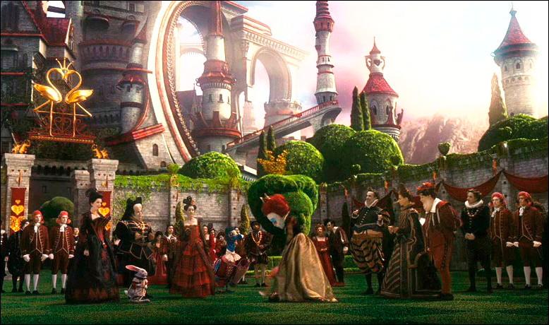 Alice in Wonderland Screenshot of Heart Castle