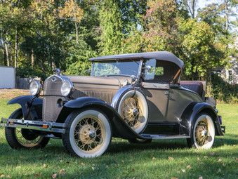 1931 Ford Model A Roadster gets added to December Catalog Auction