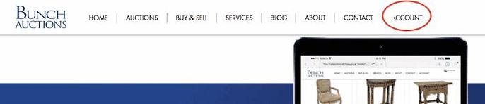 Bunch Auctions Account Setup Instructions