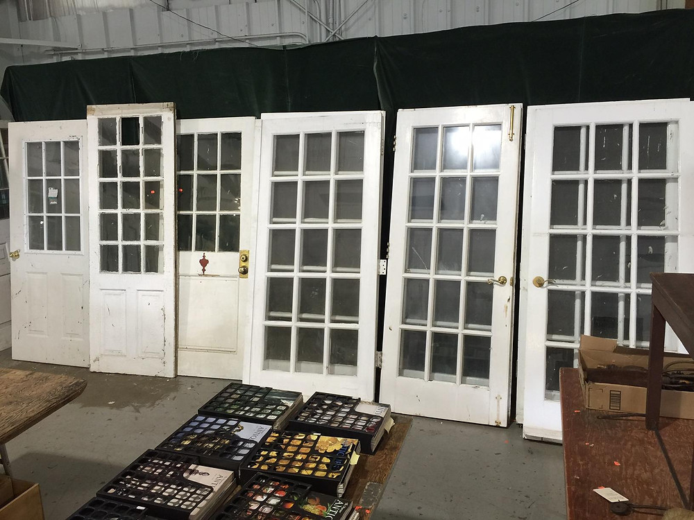 Doors featured in Bunch Auctions May 17 backroom auction